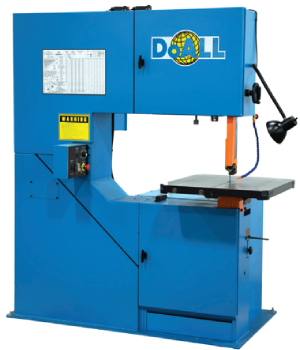 DoALL 2013-V5 Vertical Contour Band Saw - Industrial Supplies USA