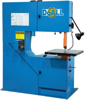 DoALL 3613-V5 Vertical Contour Band Saw - Industrial Supplies USA